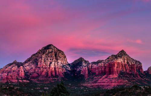 Sunrise at Sedona